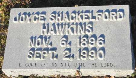 SHACKELFORD HAWKINS, JOYCE - Little River County, Arkansas | JOYCE SHACKELFORD HAWKINS - Arkansas Gravestone Photos
