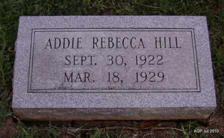 HILL, ADDIE REBECCA - Little River County, Arkansas | ADDIE REBECCA HILL - Arkansas Gravestone Photos