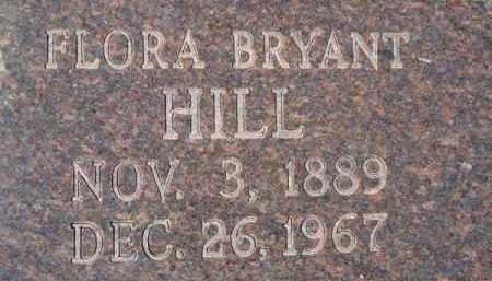 HILL, FLORA - Little River County, Arkansas | FLORA HILL - Arkansas Gravestone Photos