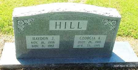 HILL, GEORGIA K - Little River County, Arkansas | GEORGIA K HILL - Arkansas Gravestone Photos