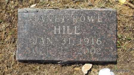 HILL, JANET - Little River County, Arkansas | JANET HILL - Arkansas Gravestone Photos