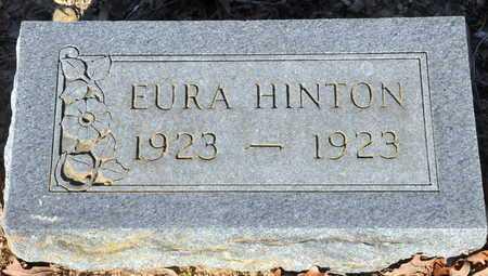 HINTON, EURA - Little River County, Arkansas | EURA HINTON - Arkansas Gravestone Photos