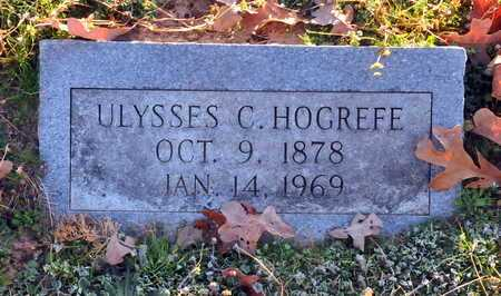 HOGREFE, ULYSSES C - Little River County, Arkansas | ULYSSES C HOGREFE - Arkansas Gravestone Photos