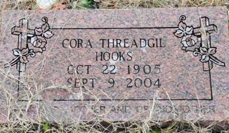 HOOKS, CORA - Little River County, Arkansas | CORA HOOKS - Arkansas Gravestone Photos