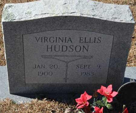 ELLIS HUDSON, VIRGINIA - Little River County, Arkansas | VIRGINIA ELLIS HUDSON - Arkansas Gravestone Photos