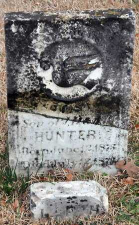 HUNTER, LOUIS - Little River County, Arkansas | LOUIS HUNTER - Arkansas Gravestone Photos