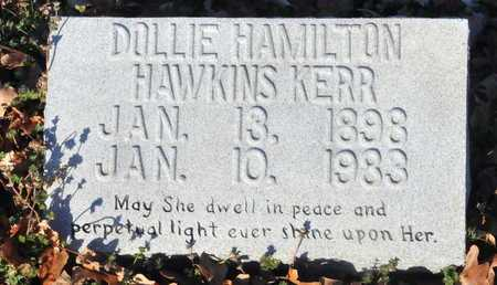 HAWKINS KERR, DOLLIE HAMILTON - Little River County, Arkansas | DOLLIE HAMILTON HAWKINS KERR - Arkansas Gravestone Photos