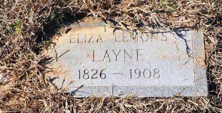 LAYNE, ELIZA - Little River County, Arkansas | ELIZA LAYNE - Arkansas Gravestone Photos