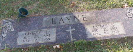 LAYNE, ESTHER MAUDE - Little River County, Arkansas | ESTHER MAUDE LAYNE - Arkansas Gravestone Photos