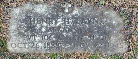 LAYNE (VETERAN), HENRY H. - Little River County, Arkansas | HENRY H. LAYNE (VETERAN) - Arkansas Gravestone Photos