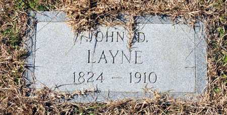 LAYNE, JOHN D - Little River County, Arkansas | JOHN D LAYNE - Arkansas Gravestone Photos