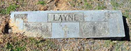 LAYNE, FANNIE M - Little River County, Arkansas | FANNIE M LAYNE - Arkansas Gravestone Photos