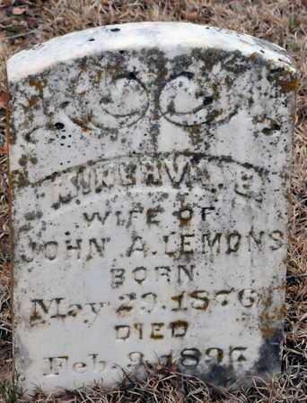 LEMONS, MINERVA E - Little River County, Arkansas | MINERVA E LEMONS - Arkansas Gravestone Photos