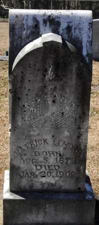 LEMONS, PATRICK - Little River County, Arkansas | PATRICK LEMONS - Arkansas Gravestone Photos