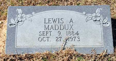 MADDUX, LEWIS A - Little River County, Arkansas | LEWIS A MADDUX - Arkansas Gravestone Photos