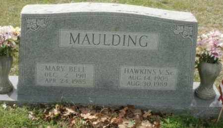 DAVIS MAULDING, MARY BELL - Little River County, Arkansas | MARY BELL DAVIS MAULDING - Arkansas Gravestone Photos