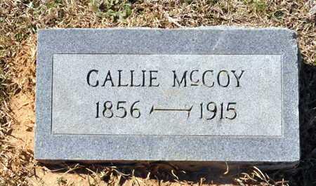 MCCOY, GALLIE - Little River County, Arkansas | GALLIE MCCOY - Arkansas Gravestone Photos