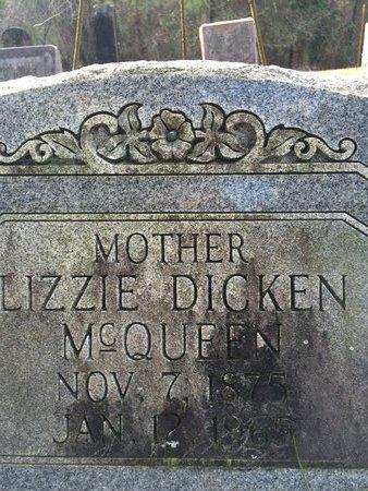 DICKEN BRIGGS, LIZZIE - Little River County, Arkansas | LIZZIE DICKEN BRIGGS - Arkansas Gravestone Photos