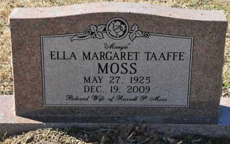 "TAAFFE MOSS, ELLA MARGARET ""MARGIE"" - Little River County, Arkansas 