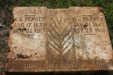 PARKER, M J - Little River County, Arkansas   M J PARKER - Arkansas Gravestone Photos