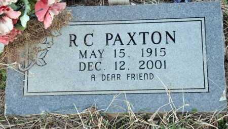 PAXTON, R C - Little River County, Arkansas   R C PAXTON - Arkansas Gravestone Photos