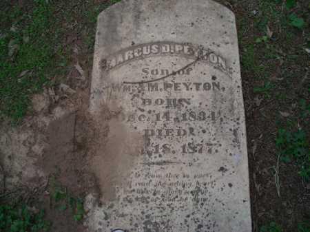 PEYTON, MARCUS D. - Little River County, Arkansas | MARCUS D. PEYTON - Arkansas Gravestone Photos