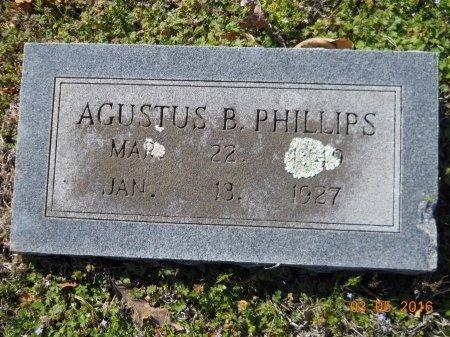 PHILLIPS, AGUSTUS B - Little River County, Arkansas | AGUSTUS B PHILLIPS - Arkansas Gravestone Photos