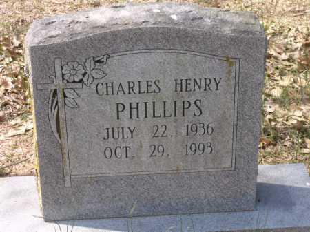 PHILLIPS, CHARLES HENRY - Little River County, Arkansas | CHARLES HENRY PHILLIPS - Arkansas Gravestone Photos