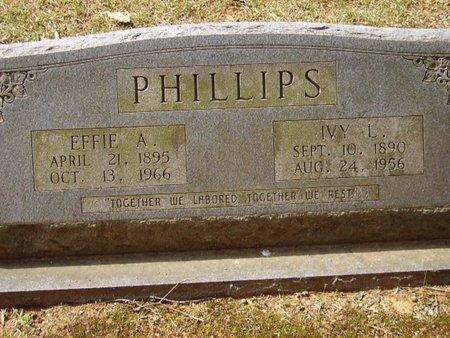 PHILLIPS, IVY L - Little River County, Arkansas   IVY L PHILLIPS - Arkansas Gravestone Photos