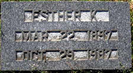 PHILLIPS, ESTHER - Little River County, Arkansas   ESTHER PHILLIPS - Arkansas Gravestone Photos