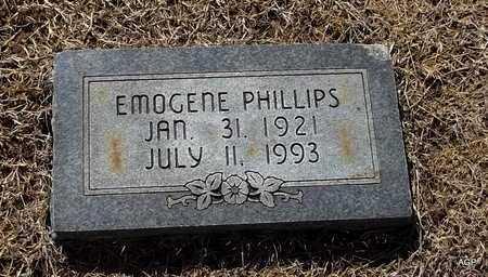 PHILLIPS, EMOGENE - Little River County, Arkansas | EMOGENE PHILLIPS - Arkansas Gravestone Photos