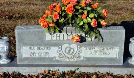 PHILLIPS, FRED BRAXTON - Little River County, Arkansas | FRED BRAXTON PHILLIPS - Arkansas Gravestone Photos