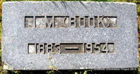 """PHILLIPS, I M """"BOOK"""" - Little River County, Arkansas   I M """"BOOK"""" PHILLIPS - Arkansas Gravestone Photos"""
