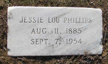 PHILLIPS, JESSIE LOU - Little River County, Arkansas | JESSIE LOU PHILLIPS - Arkansas Gravestone Photos