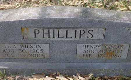 PHILLIPS, HENRY ODEAN - Little River County, Arkansas | HENRY ODEAN PHILLIPS - Arkansas Gravestone Photos