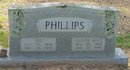 PHILLIPS, GUSSIE - Little River County, Arkansas | GUSSIE PHILLIPS - Arkansas Gravestone Photos