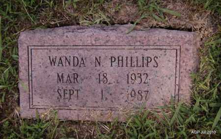 PHILLIPS, WANDA N - Little River County, Arkansas | WANDA N PHILLIPS - Arkansas Gravestone Photos