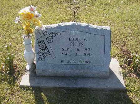 PITTS, EDDIE V - Little River County, Arkansas   EDDIE V PITTS - Arkansas Gravestone Photos