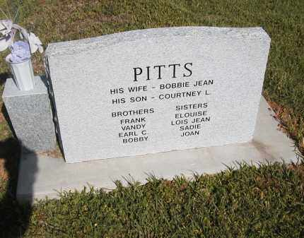 PITTS,JR, HERSHIE (BACK) - Little River County, Arkansas | HERSHIE (BACK) PITTS,JR - Arkansas Gravestone Photos