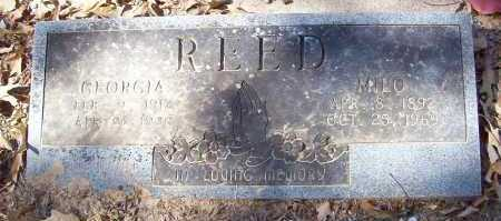 REED, MILO - Little River County, Arkansas | MILO REED - Arkansas Gravestone Photos