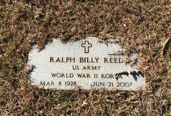 REED (VETERAN 2 WARS), RALPH BILLY - Little River County, Arkansas | RALPH BILLY REED (VETERAN 2 WARS) - Arkansas Gravestone Photos