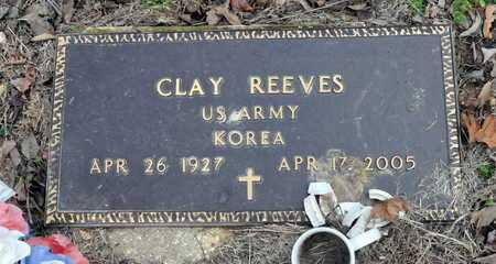 REEVES (VETERAN KOR), CLAY - Little River County, Arkansas | CLAY REEVES (VETERAN KOR) - Arkansas Gravestone Photos