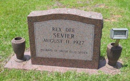 SEVIER, REX DEE - Little River County, Arkansas | REX DEE SEVIER - Arkansas Gravestone Photos