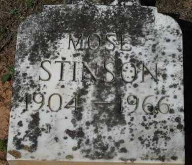 STINSON, MOSE - Little River County, Arkansas | MOSE STINSON - Arkansas Gravestone Photos