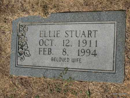 STUART, ELLIE - Little River County, Arkansas   ELLIE STUART - Arkansas Gravestone Photos