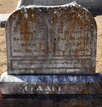 TAAFFEE, GEORGE - Little River County, Arkansas | GEORGE TAAFFEE - Arkansas Gravestone Photos