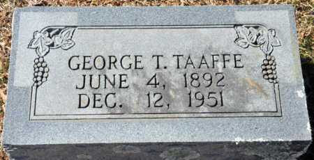 TAAFFE, GEORGE T - Little River County, Arkansas | GEORGE T TAAFFE - Arkansas Gravestone Photos