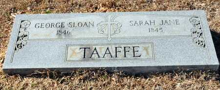 TAAFFE, GEORGE SLOAN - Little River County, Arkansas | GEORGE SLOAN TAAFFE - Arkansas Gravestone Photos