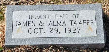 TAAFFE, INFANT DAUGHTER - Little River County, Arkansas | INFANT DAUGHTER TAAFFE - Arkansas Gravestone Photos