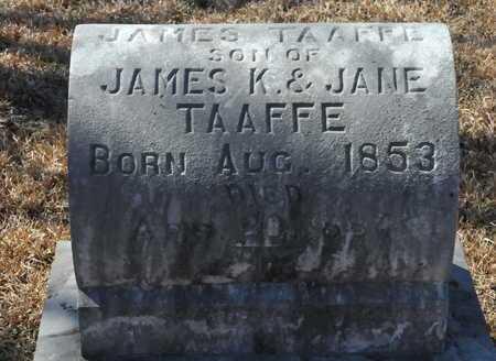 TAAFFE, JAMES - Little River County, Arkansas | JAMES TAAFFE - Arkansas Gravestone Photos